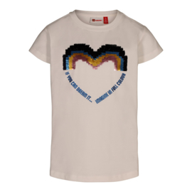 Lego Wear - Meisjes t-shirt Tone 304, Off White