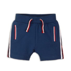 Dirkje short Mid blue + red