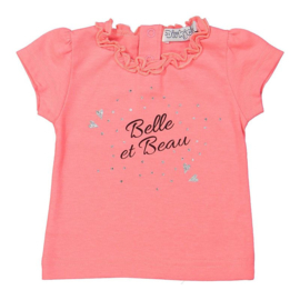 Dirkje t-shirt neon pink - So bright belle