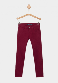 Tiffosi broek Jaden - Ruby wine