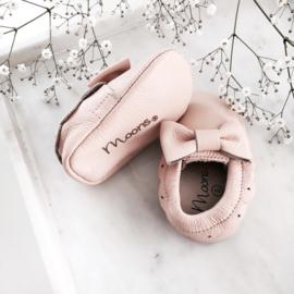 Moon boots Boho Bow Moccasins - Peach
