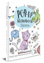 Kleurboek dieren Pop-up boek