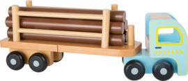 Houten vrachtwagen - hout transporter