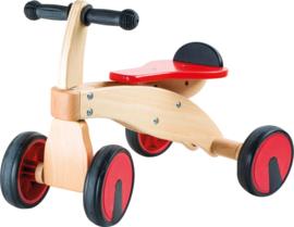 """Houten fietsje """"red racer"""""""