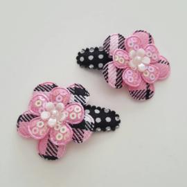 Haarknipje ♥ Burberry roze