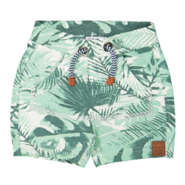 Dirkje baby jogging short green aop - Wanted and wild