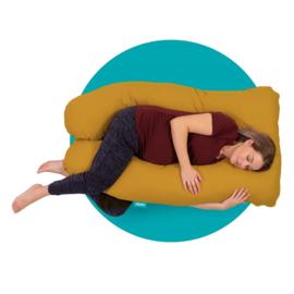 Mjuka - Zwangerschapskussen | Comfortkussen Soft Cotton Ocher