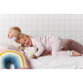 Feetje - Pyjama wafel Zalm Roze