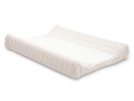 Waskussenhoes 50x70cm River knit cream white