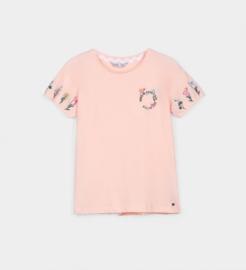 Tiffosi - Licht roze t-shirt meisjes - Kassin