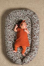 Jollein Babynest Leopard natural
