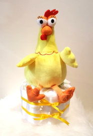 Pampertaart knuffel kip - 1 laag klein