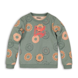 DJ Dutchjeans sweater donuts green - fabulous