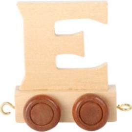 Lettertrein - letter E