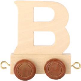 Lettertrein - letter B