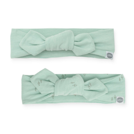 Jollein - Haarband Forest green (2pack)