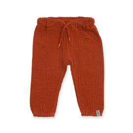 Jollein - Broekje Wrinkled cotton rust