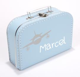 Kinderkoffertje ♥ vliegtuig