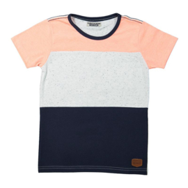 DJ Dutchjeans t-shirt ss faded coral - Adventurous journey