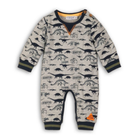 Dirkje baby boxpakje grey melee Dino -  So Bright Outdoor Expedition