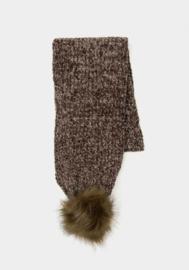 Tiffosi sjaal Noida voor meisjes  - Burnt Olive
