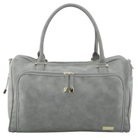 Isoki - Double Zip Satchel Stone