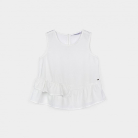 Tiffosi Girls witte top - Issy