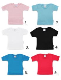 T-shirt ♥ met tekst naar keuze