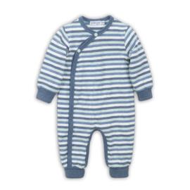 Dirkje - baby boxpakje blauw gestreept