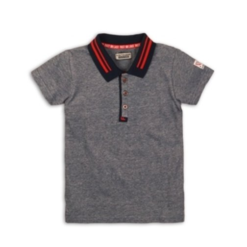 DJ Dutchjeans Polo shirt navy melange