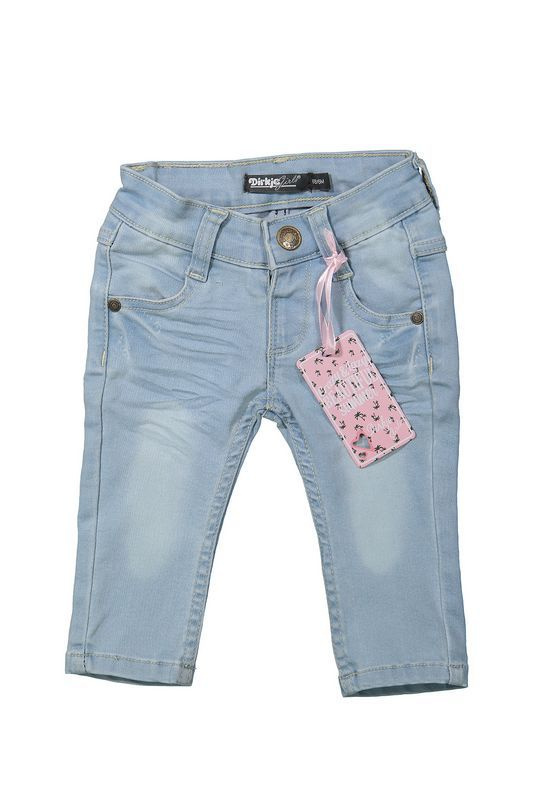 Dirkje licht blauwe jeans
