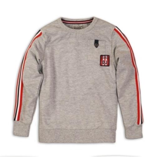 DJ Dutchjeans Grijze sweater