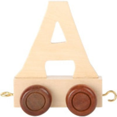 Lettertrein - letter A