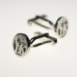 Cufflinks with multiple initials