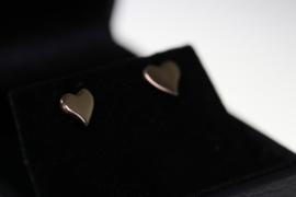 Valentijn oorbel goud