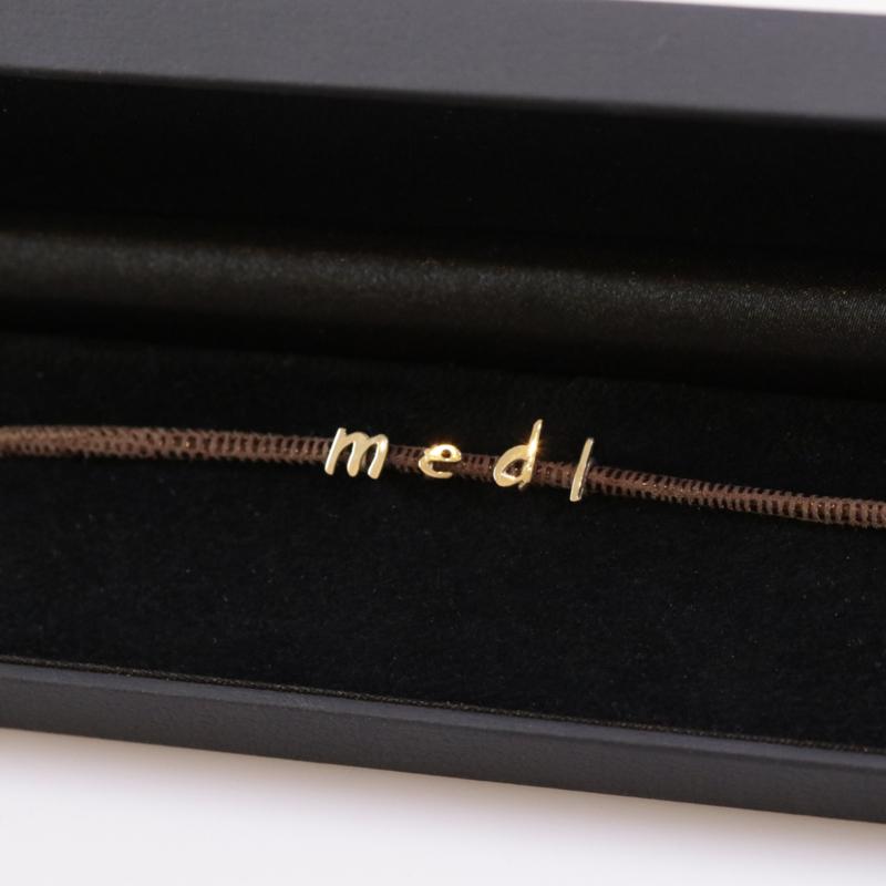Armband Initials goud