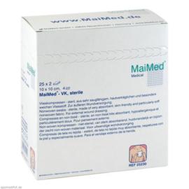 Medische compressen 10 x 10 cm / 25 x 2 st.