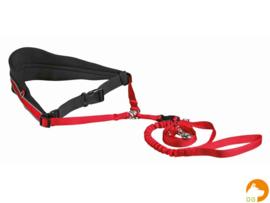 Heupriem met lijn voor middelgrote en grote honden 70-120cm