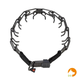 Sprenger Zwart roestvrij staal Ultra Plus gesp-halsband