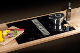 Inductie kookplaat met afzuiging 80cm Intergral 80