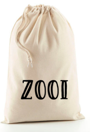 Katoenen zak 'Zooi'
