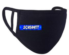 Mondkapje 'Scream'