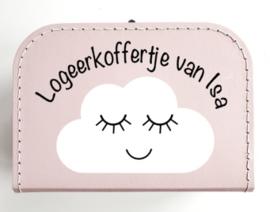 Koffertje met wolkje