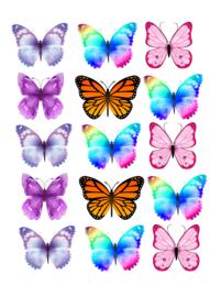 Set vlinders