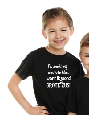 Grote zus (Kids t-shirts)