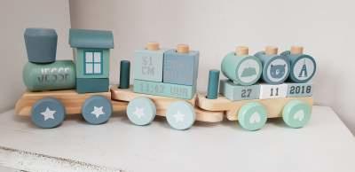 Stickers voor Little Dutch trein