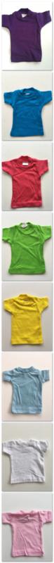 Knuffeltje met gepersonaliseerd shirt