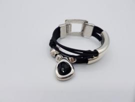 Dames Armband Black