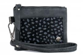 Zwart portemonneetje Almelo