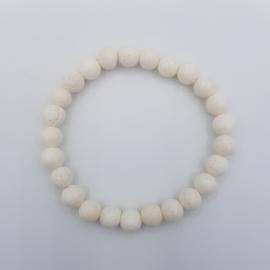 Armband Lava White